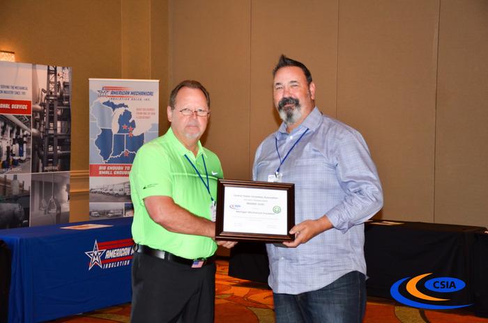 2017 Safety Award Mich Mech